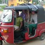 Chamara our faithful tuctuc driver