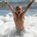 Fun in the private surf spot