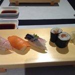 Subarashii o-sushi!