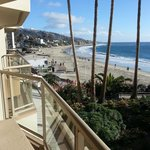 Inn at Laguna Beach view from balcony
