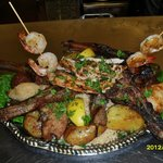 SPECIALTY PLATTER: 4 course of hand made greek food