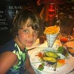 my son in Casa