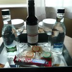 complimentary tray