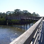 walking path/bridge at Ann Dever Park