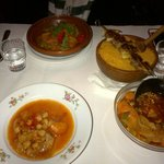 Tagine and Couscous with mutten