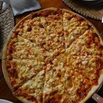 lobster pizza. yummy!