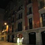 fachada del hotel clasica
