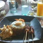 Indonesian breakfast