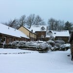 Snow capped cottages