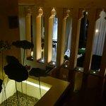 Blick Vom Eingang aufs Wohnzimmer Villa