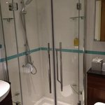 Even the shower was 1st class