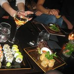 sushi at the buddha bar