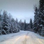 Winter's Drive to Alaska Sundance Retreat