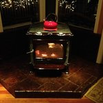 The New Wood Stove - COZY!