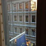 view from room; side street