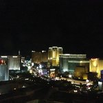 View of strip from our room