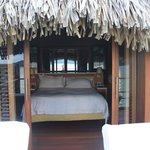 Bedroom from bungalow deck