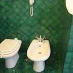 toilets in bathroom