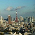 部屋から見えた東京タワー
