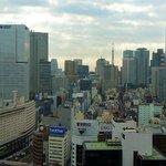 赤坂見附方面の眺望