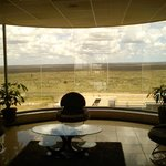 View of the Nairobi national park from the lobby