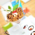 Fried Brownie Dessert