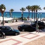 Strandpromenaden i Albir