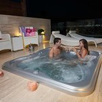 Junior Suite Terrace & Jacuzzi @ Night