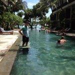 The pool is amazing