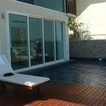 notre piscine apres midi