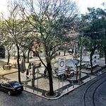 View from the hotel overlooking Carmo Plaza