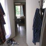 Hallway of chalet/room