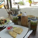 lunch with mojito's