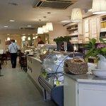 Deli shop and takeout sandwich bar