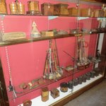 Some of many nautical antiques displayed around the hotel.