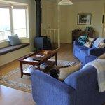 Pleasant lounge area