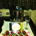 Special delivery from room service, it was fabulous!