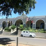 Entrance of the hotel at Mainstreet Riebeek Kasteel