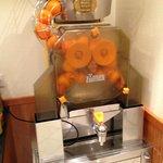 オレンジ生搾り