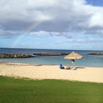 ラグーンに虹