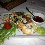 cena romantica a base di aragosta