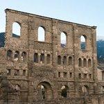 Aosta Roman ruins