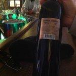 The nice italian wine that we drunk