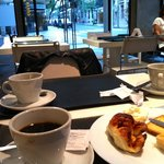 Vista do café da manhã