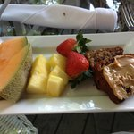 My breakfast at tropical inn, me being healthy, there are lots of other GREAT