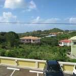 Balcony view toward airport