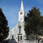 The little church appears to stil hold Sunday services