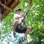 Treetop Adventure Park Tarzan Swing