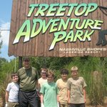 Treetop Adventure Park (Ropes courses and zip lines)