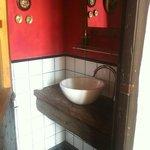 toilet de recepción